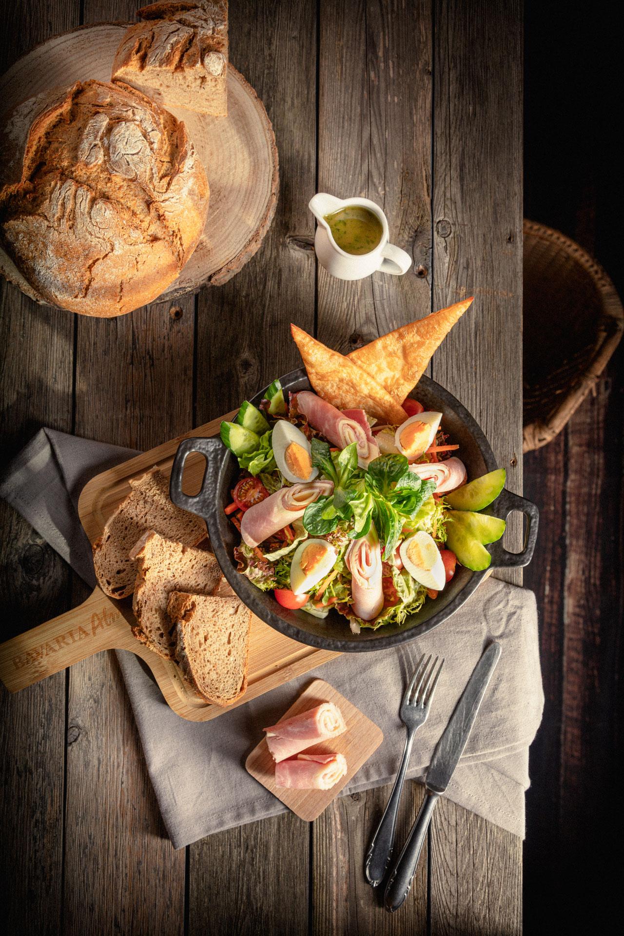 Salate - Schinken & Ei