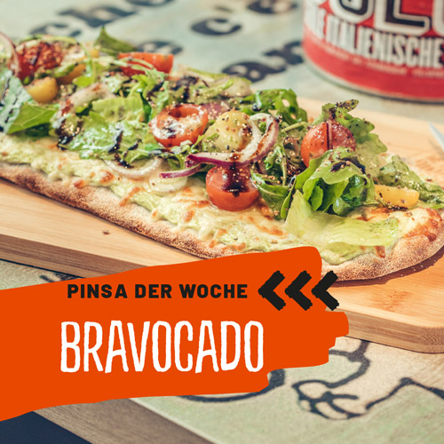 Pinsa Bravocado